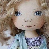 Dolls and handmade toys. Fair Masters - handmade Flower Gnomochka in lilac. Handmade.