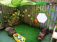 Best Indoor Garden Ideas for 2020 - Modern Reading Garden, Garden Nook, Preschool Garden, Sensory Garden, Eyfs Outdoor Area, Outdoor Areas, Artificial Grass Garden, Artificial Flowers, Astro Turf Garden