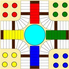 """Dos archivos para descargar y montar el tablero del parchís de 3 x 2 (tamaño en A4) sin números impresos. Con el podemos trabajar la numeración como se especifica en el apartado """"iniciación a la simulación y reprentación""""del artículo sobre la secuenciación para la adquisición de los primeros niveles de … Games For Kids, Diy For Kids, Games To Play, Board Game Design, Origami And Kirigami, School Worksheets, School Games, Diy Games, Table Games"""