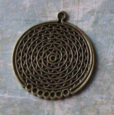 10 pcs Antique Bronze Vintage Style Earring by SandraSupplies, $3.65