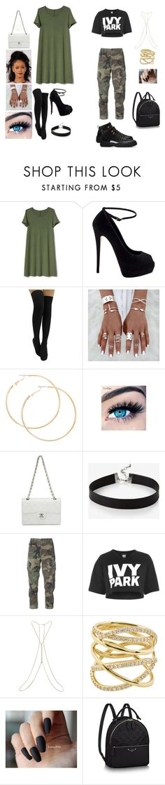 """Me"" by dkandrews on Polyvore featuring Gap, Giuseppe Zanotti, MINX, Chanel, Express, RE/DONE, Topshop, Miss Selfridge and Lana"