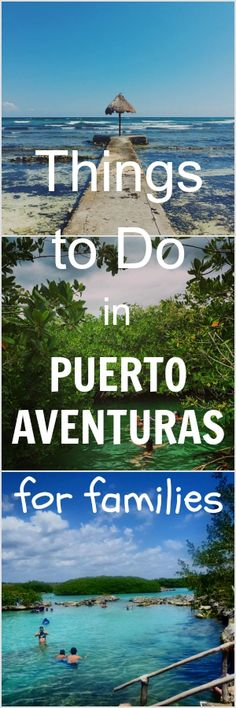 Things to Do in Puerto Aventuras for Families