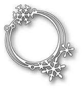 Image result for poppystamps snowflake ribbon die