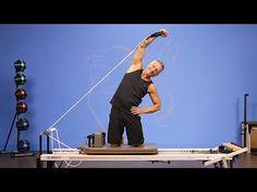 Hug the Moon Side Bend on Reformer - YouTube