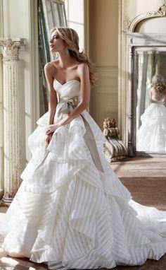 Hayley Paige Wedding Dresses 2 - Deer Pearl Flowers / http://www.deerpearlflowers.com/wedding-dress-inspiration/hayley-paige-wedding-dresses-2/