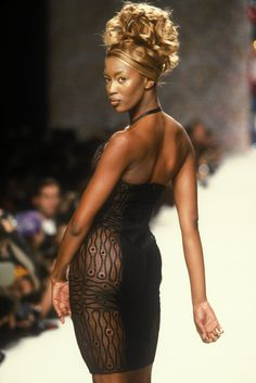 Naomi Campbell - Todd Oldham Spring 1996