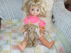 Timey Tell Doll with Original Dress by Daysgonebytreasures on Etsy, $12.00