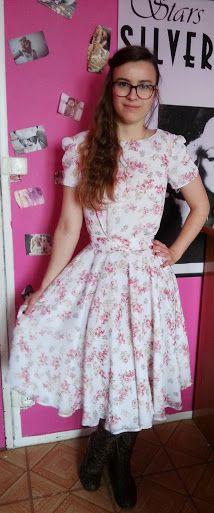 Rosy Retro Vintage: Robe fleurs de printemps !!