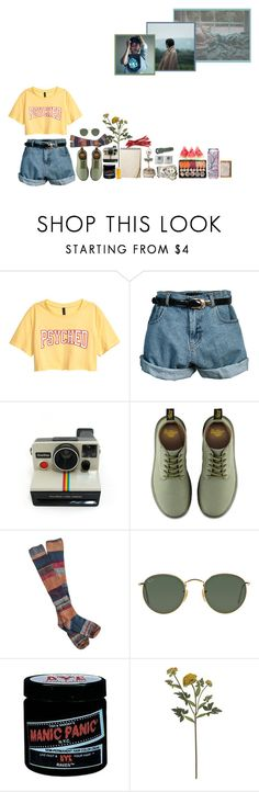 """The feeling is creeping in slow It's feeding my need to be known And giving me nothing back,"" by suck-it-darling ❤ liked on Polyvore featuring Retrò, Polaroid, Dr. Martens, Free People, Ray-Ban, Manic Panic NYC and Crate and Barrel"