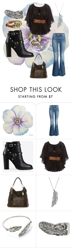 """First date ( i wish!)"" by frizzynorse ❤ liked on Polyvore featuring H&M, Valentino, Jane Norman, Anna Morellini, Stone Paris, King Baby Studio and Cost Plus World Market"