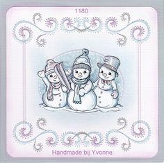 YBB 1180 Sneeuwpoppetjes