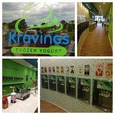 "@kravingsyogurt's photo: ""Welcome to Kravings Frozen Yogurt! Located at 147 Van Zile road brick, NJ 08724. Enjoy a variety of yogurt flavors topped with candy, fruit, or syrups! Great music, televisions and enjoyment for people of all ages!"""