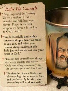 Padre Pio of Pietrelcina, Manila, Philippines. Ask for his intercession and see miracles happening in your life! Catholic Religion, Catholic Quotes, Catholic Saints, Religious Quotes, Roman Catholic, Faith Prayer, My Prayer, Faith In God, Novena Prayers