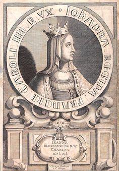 Jeanne d'Evreux, épouse de Charles IV