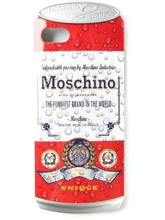 'Drink Moschino' iPhone 5 case
