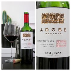 Not the Common CC or the CS6 from the suite but yet ejoyable! Adobe Cabernet Sauvignon Emiliana