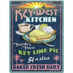 Key West Florida Kitchen Key Lime Pie Metal Sign Diner De... https://www.amazon.com/dp/B01BE25Y8U/ref=cm_sw_r_pi_dp_x_gH89ybFV981JC