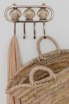 A la Shell Haken - 4 st. Straw Bag, Shells, Kitchen, Bags, Conch Shells, Handbags, Cooking, Seashells, Kitchens