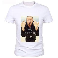 Used Look Los Pollos Heisenberg T-Shirt pour Homme Hermanos Bad Mr White Breaking