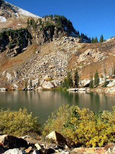Cecret Lake, Little Cottonwood Canyon.  And no, I didn't spell it wrong.  :)