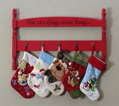 Do It Yourself Stocking Hanger