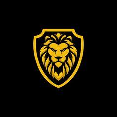 Shield Icon, Shield Logo, Logo Design Template, Vector Design, Leon Logo, Basketball Logo Design, Lion Icon, Lion Vector, Tattoo Studio