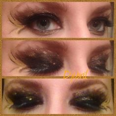 Katniss tributes chariot inspired make-up