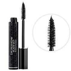 Stocking stuffer- Diorshow Black Out Waterproof Mascara in Black - rich black  #sephora