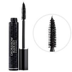 Stocking stuffer- Diorshow Black Out Waterproof Mascara in Black - rich black  #sephora