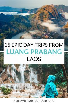 15 epic day trips from Luang Prabang, Laos – includes hiking and boating, waterfalls, caves and ethnic village visits. My Luang Prabang Day Trip guide contains up-to-date information for 2021. #Laos #LuangPrabang #LaosTravel #daytrip #LuangPrabangDayTrips #ALWB #ThingsToDoInLuangPrabang Laos Culture, Laos Travel, Vientiane, Luang Prabang, Day Tours, Caves, Day Trip, Boating, Southeast Asia