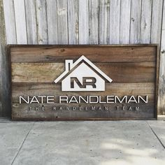 Another logo sign. I love seeing logos transformed onto reclaimed wood. What an awesome piece for an office space. #lasercut #lasercutting…