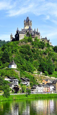 Reichsburg Cochem castle, Germany
