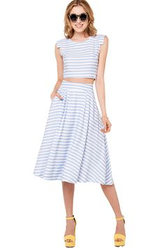 Our Favorite Trends, Then & Now #refinery29  http://www.refinery29.com/best-trends#slide26  The Full Skirt