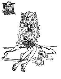 monster high coloring pages - Google Search
