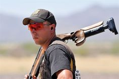 2008 Olympic gold medalist skeet shooter Vincent Hancock is going for the gold yet again in London. He is member of the U.S. Olympic shooting team. His hometown is Eatonton, Georgia.
