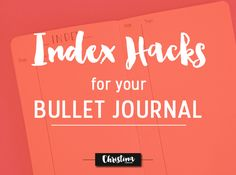 How to make your Index Page even more functional with a few Index hacks - www.christina77star.co.uk