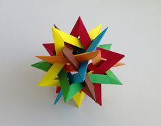 Six Intersecting Pentagrams