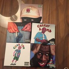 "Five covers of ""Cherry Bomb"" - Tyler, The Creator (2015) / Tyler, The Creator"