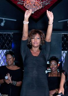 Some of the last known photo's of Whitney, as she left a night club on Feb. 10, 2012.