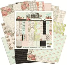 """London Market Petite Paper Pack 6""""x6"""" -  this is a really pretty collection & can't wait to use it."""