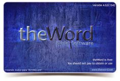 FREE BIBLE SOFTWARE (THE BEST)