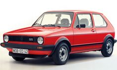The Volkswagen Golf GTI was first unveiled at the Frankfurt motor show in 1975 and who would have thought that 37 years later VW would still be using the car as a benchmark. Volkswagen Golf Mk1, Vw Golf 8, Golf 1 Gti, Vw Mk1, Volkswagen Beetles, Corvette C3, Chevrolet Corvette, Maserati, Ferrari