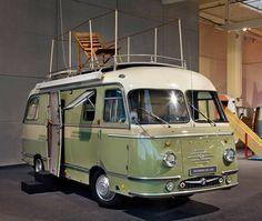 The 1959 Mikafa Reisemobil (caravan) De Luxe.