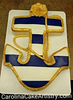 Anchor grooms cake!