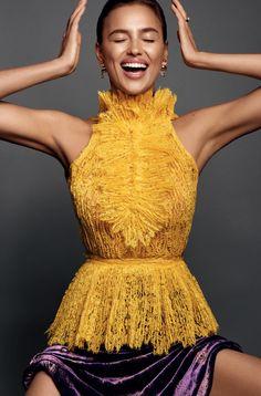 Irina Shayk by Jonas Bresnan for Glamour Russia October 2016 4