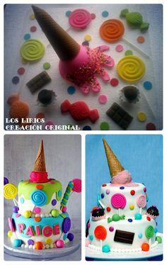 ICE CREAM CAKE (PASTILLAJE 3D)