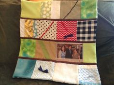 Fidget quilt for Alzheimer patient