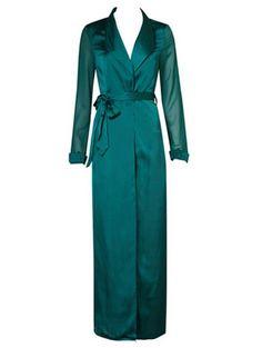 Longline Satin Duster Coat #CLICK! #clothing, #shoes, #jewelry, #women, #men