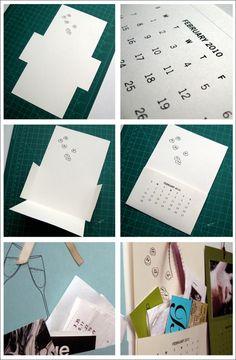 Printable 2010 Pocket Calendar by Sam & Cheryl | Creature Comforts