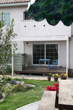 テラス / パーゴラ / ナチュラルガーデン / ガーデンデザイン / 外構 Garden Design / Deck terrace / Pergola